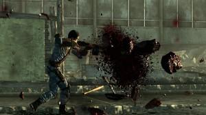 Personnage de Fallout 3 qui se fait exploser