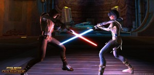 Star Wars Old Republic et ses combats