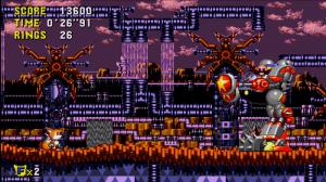 Sonic CD, une belle bouillie de pixel. Littéralement : c'est joli.