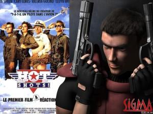 Alien Shooter, des flingues, des aliens, un mec seul, le seul artwork résume bien le jeu