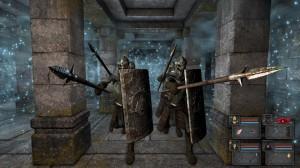 Les légionnaires squelettes de Legend of Grimrock