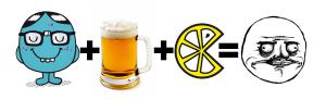 Geek + Bière + Bargaming = Me Gusta