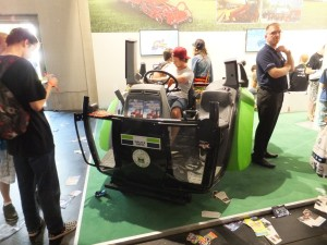 Et jouer à Farming Simulator 2012 dans un tracteur, c'est quelque chose !