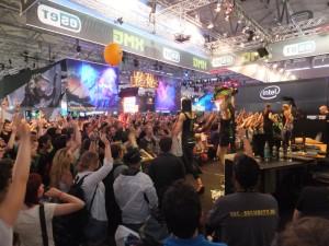 Les fameux stands bruyants, XMG faisait vraiment du show !