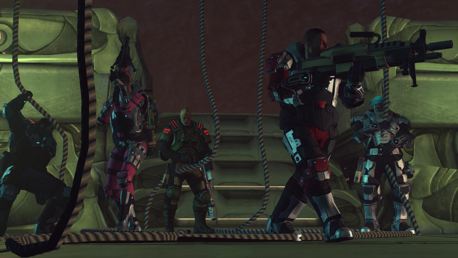 XCOM: Enemy Unknown - Des marines au top de leur forme