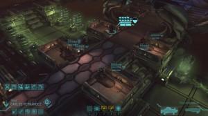 La fameuse vue de bataille d'XCOM, mes soldats font attention quand ils envahissent un vaisseau !