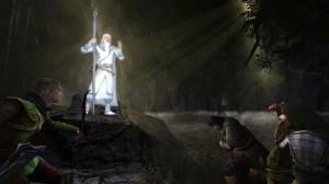 Il est de retour, ses fringues ont été lavées, c'est Gandalf le Blanc !