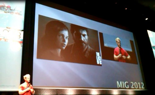 Naughty Dog Last of us Mig 2012 conference