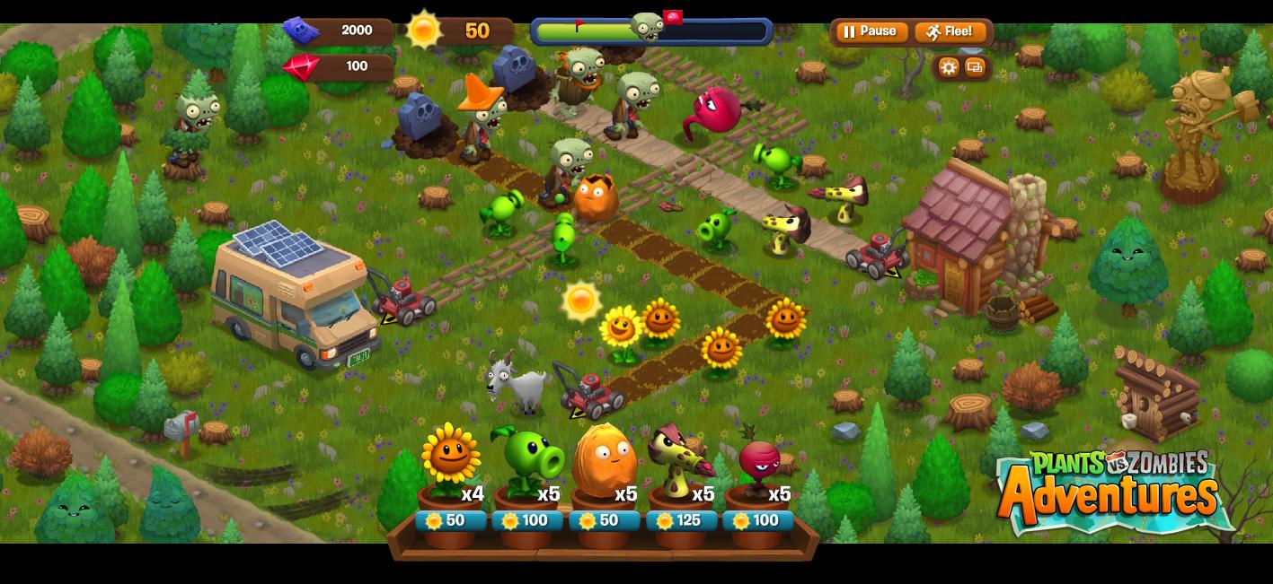 Plants vs zombies 2 go reroll for Plante vs zombie 2