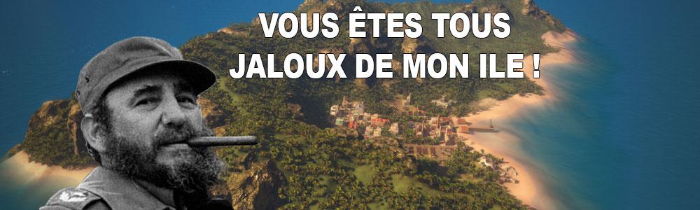 Tropico 5 ce sera de la gestion de dictature, de la vraie !