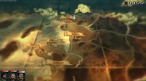La carte du monde de Blackguard est son style à l'ancienne