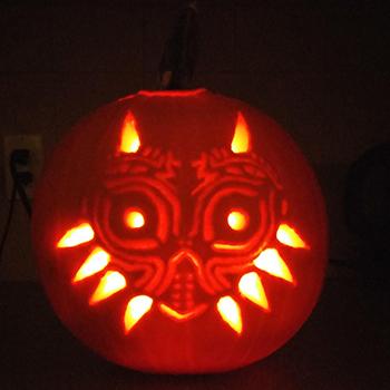 Citrouille Majora's Mask par Geoffbernier