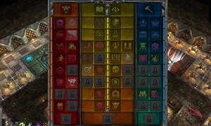 Y'a du Rituel au milieu de mes artefacts et les icônes de potions ont la même couleur que celles des salles...