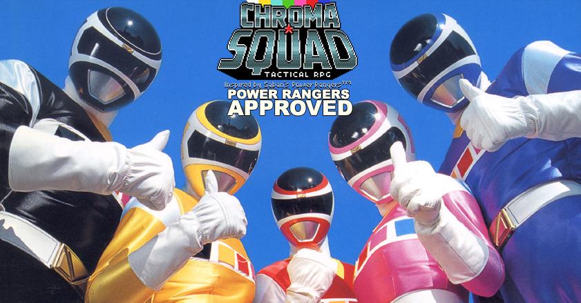 Chroma Squad : Review par Goreroll, approuvé par les Power rangers !